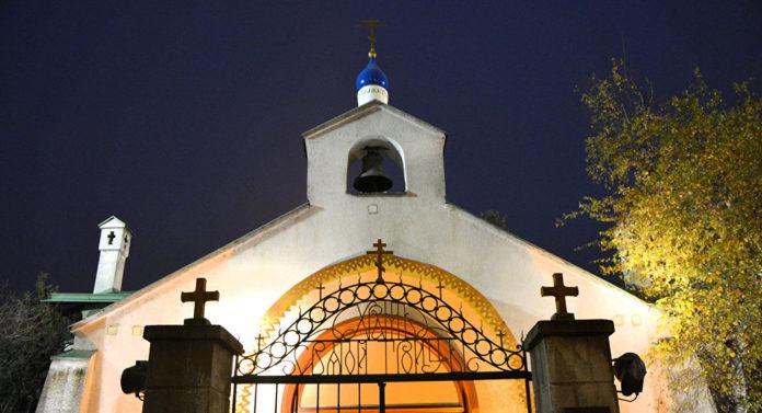 Храм Пресвятой Троицы. Подворье Русской Православной Церкви