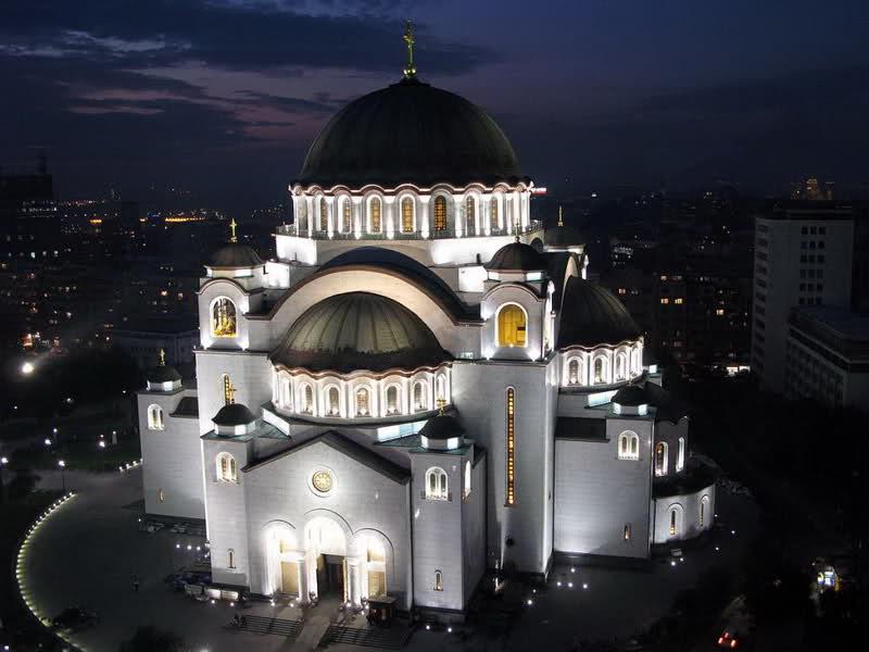 Храм Святого Саввы, Белград, Сербия