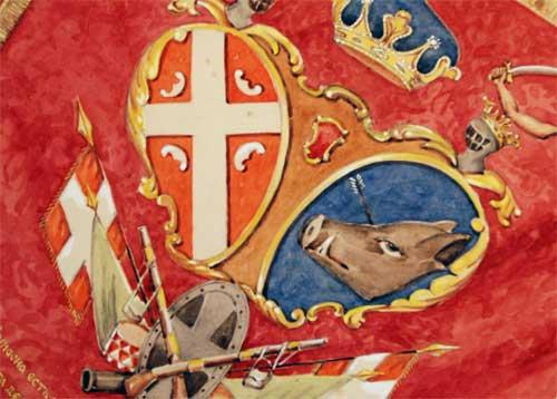 Флаг Сербии 1804