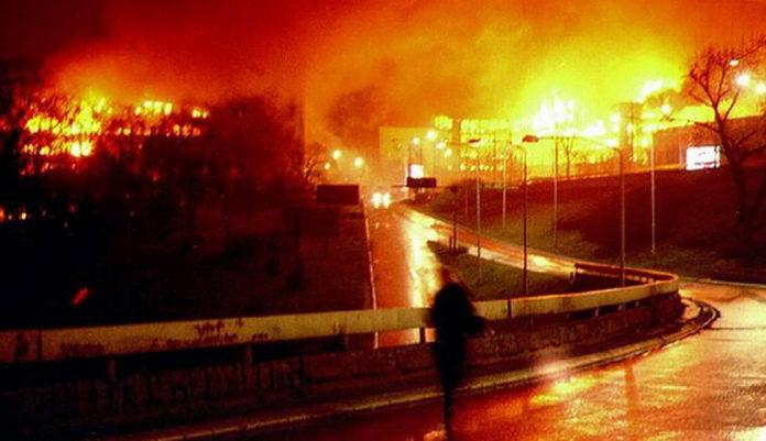 Бомбежки НАТО 1999