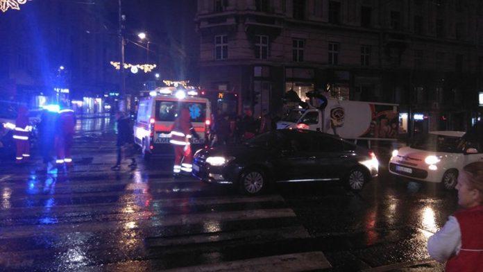 ДТП в Белграде