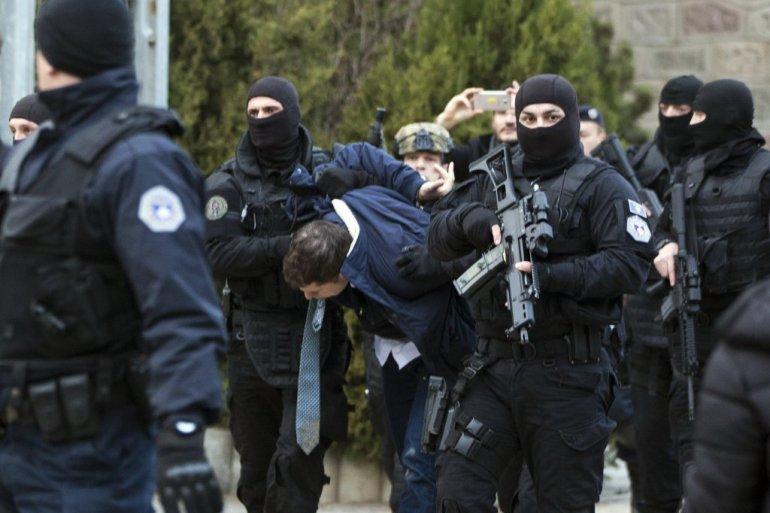 Инцидент в Косове - Сепаратисти арестуют Марка Джурича