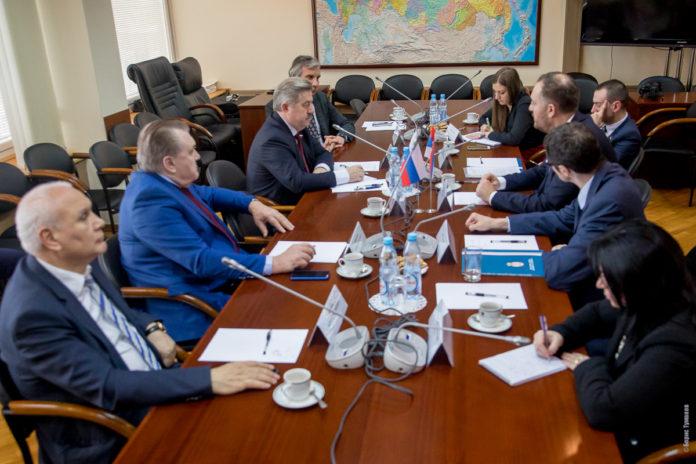 Совместное заседание комитета Госдумы по делам СНГ и комитета Республики Сербии