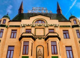 Гостиница «Москва» в Белграде