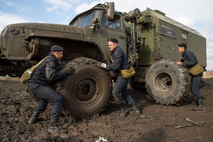 Военные водители из РФ