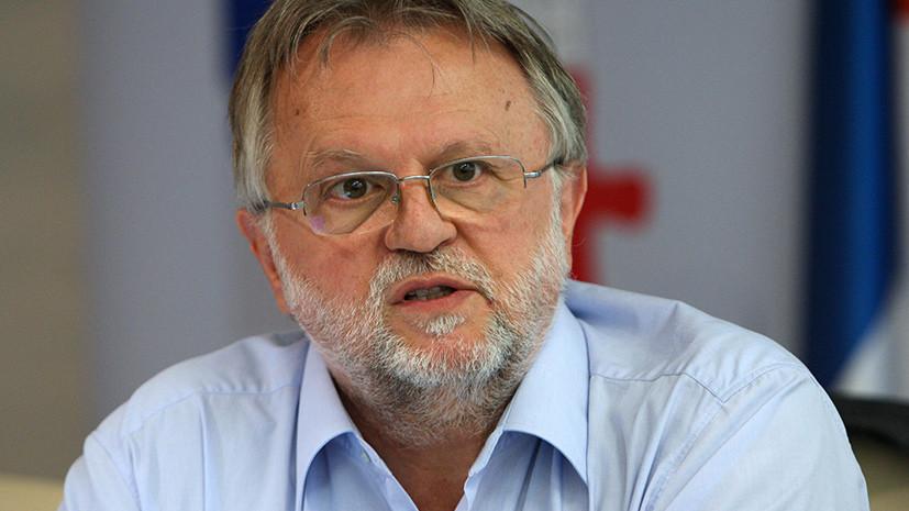 Глава Минфина Республики Сербия Душан Вуйович