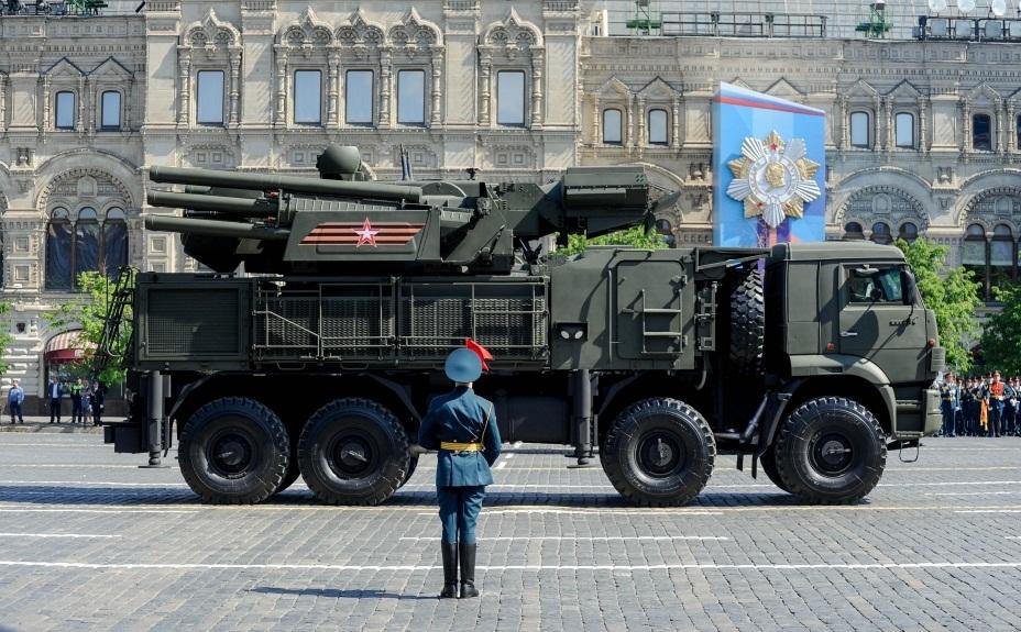 Зенитный пушечно-ракетный комплекс «Панцирь-С»