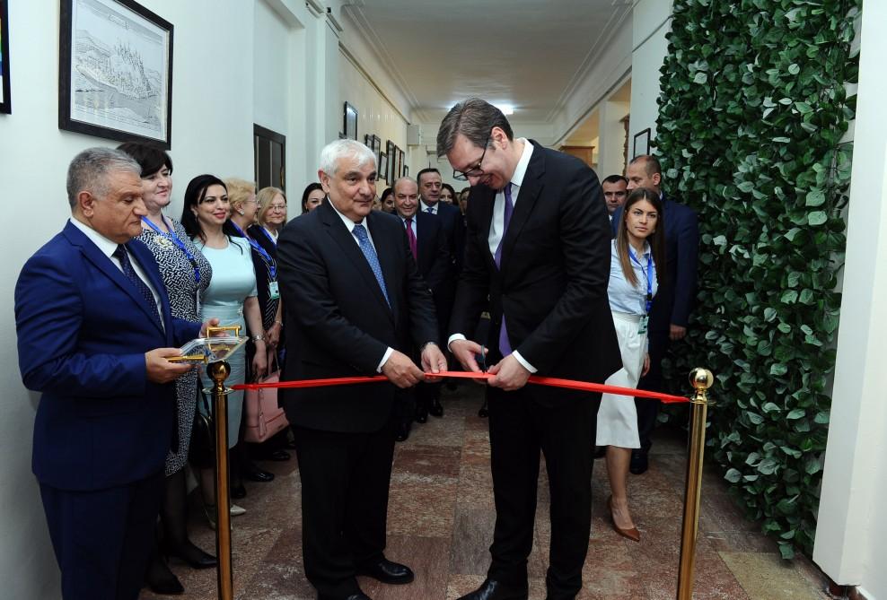 Официальное открытие Центра сербского языка и культуры в Баку