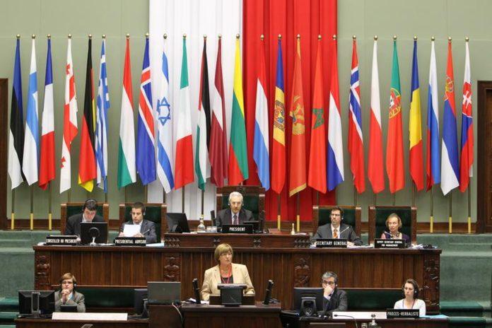 Сессия Парламентской ассамблеи НАТО в Варшаве. 26 мая 2018 года.