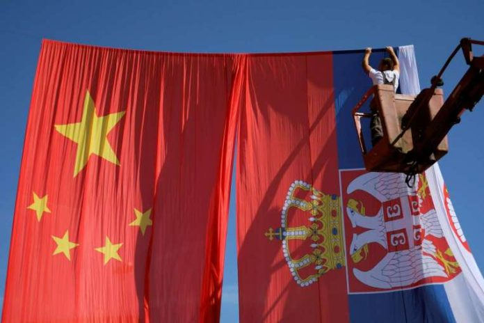 Китай - Сербия