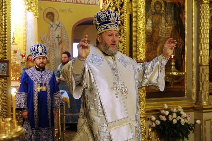 Представитель Сербской Православной Церкви при Патриархе Московском и всея Руси епископ Моравичский Антоний (Пантелич)