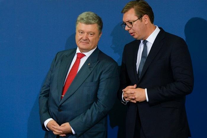 Украина и Сербия - Петр Порошенко и Александар Вучич