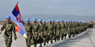 Миротворцы Сербии