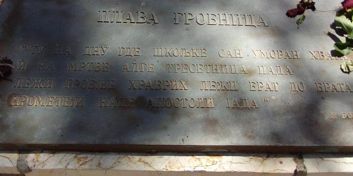 Памятник остров Видо
