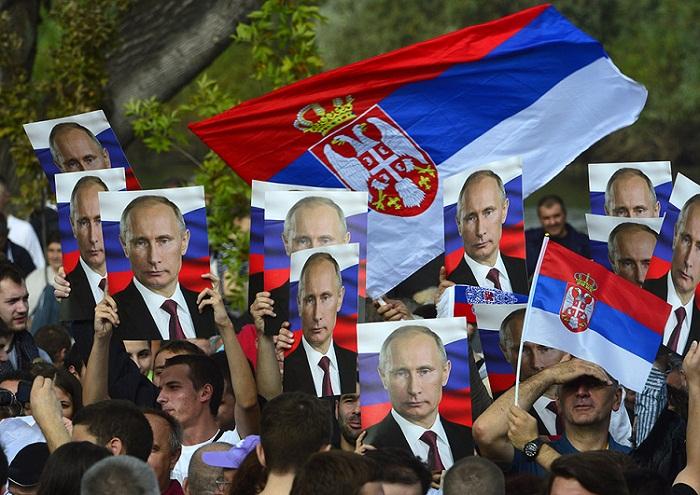 Путин в Белграде