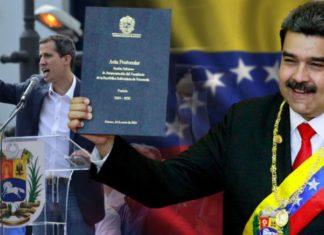 Гуайдо против Мадуро