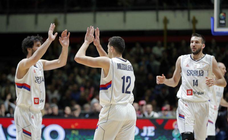 Сербия победила Израиль