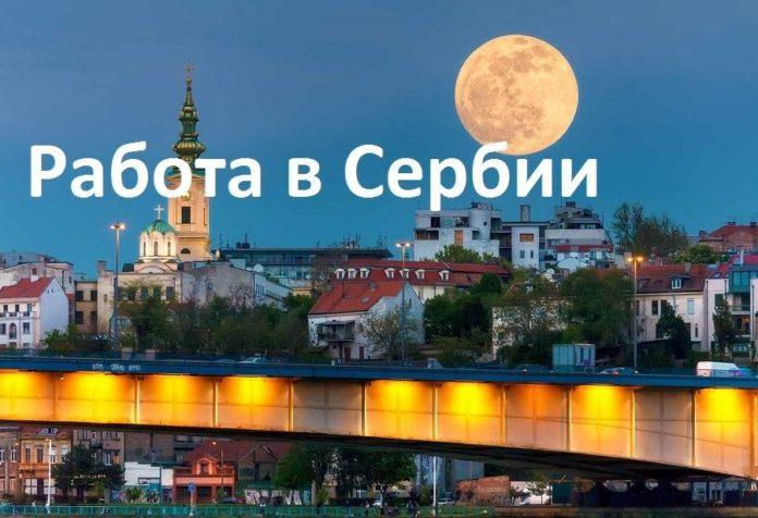 Работа для иностранцев в Сербии