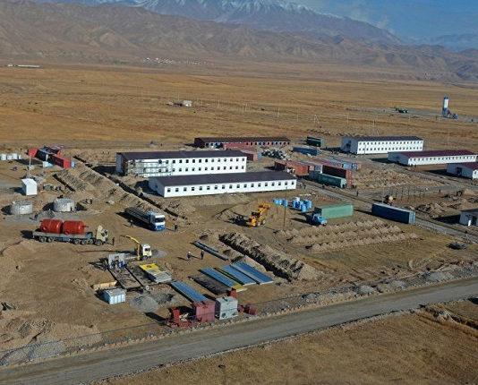 Строительство цементного завода в Кара-Куле, Верхне-Нарынских (ВНК) ГЭС, Кыргызстан