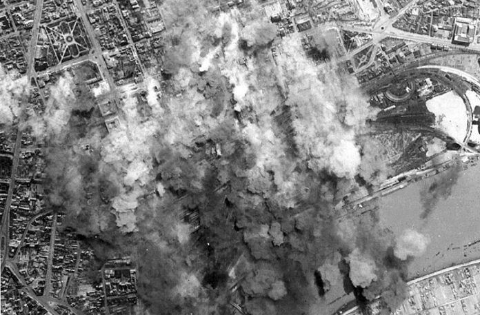 «Кровавая Пасха» над Белградом 17 апреля 1944
