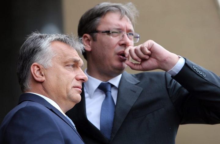 Александр Вучич и Виктор Орбан