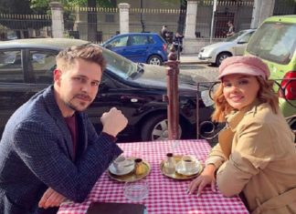 Милош Бикович и Ольга Кузмина в Белграде