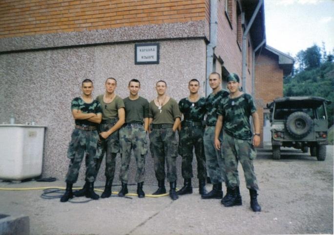 Сербские герои Косова на Кошарах