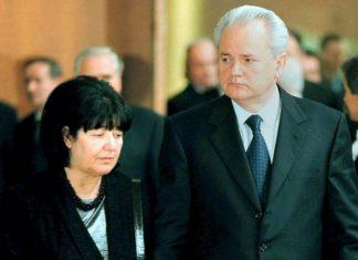 Слободан Милошевич и Мира Маркович