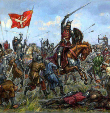 Картина Антона Батова «Битва на Косово»