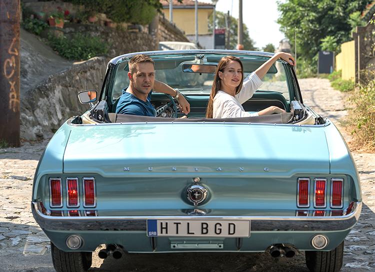 Милош Бикович и Диана Пожарская