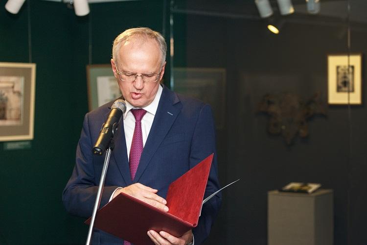 Виктор Александрович Москвин, директор Дома русского зарубежья