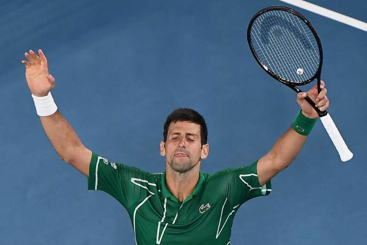 Новак Джокович выграл открытый чемпионат Австралии по теннису