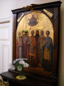 Икона в сербском доме