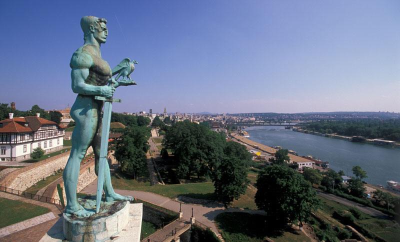 Памятник Победителю - Белград