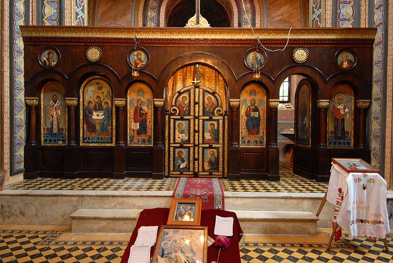 Иконостас - Церковь Св. Троицы