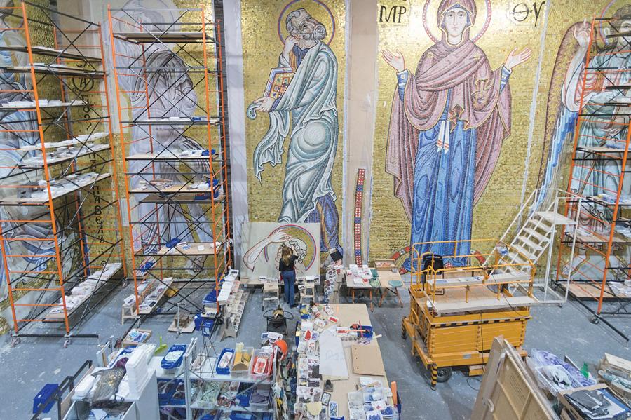 Мозаик храма Святого Саввы