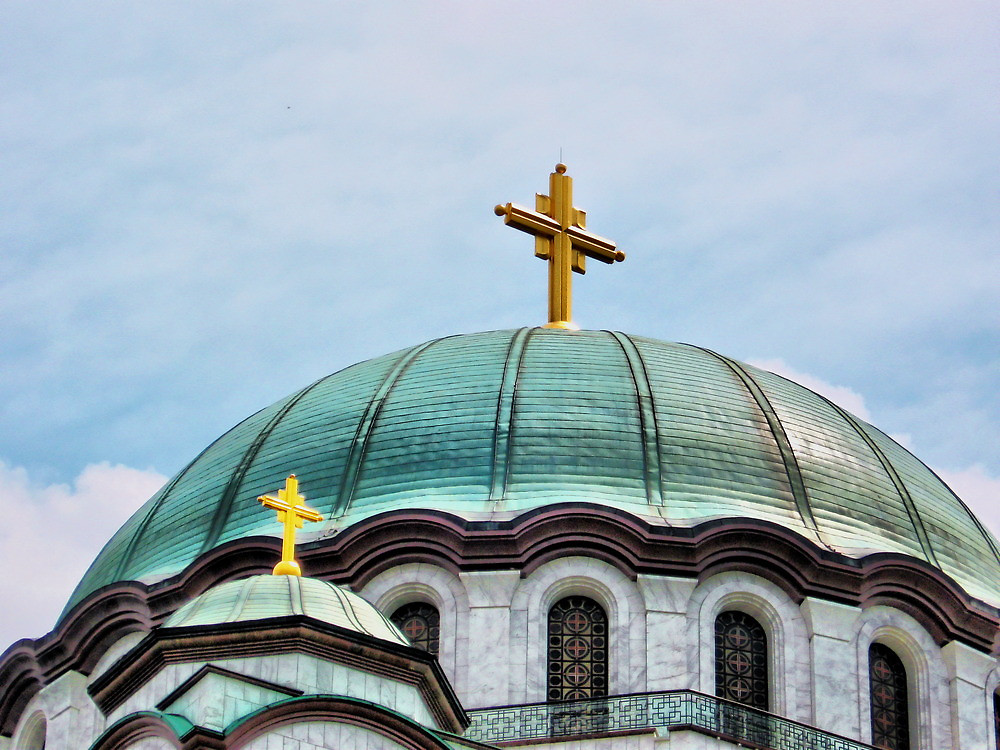 Купол храма Святого Саввы