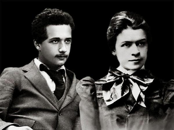 Альберт и Милева 1869 год