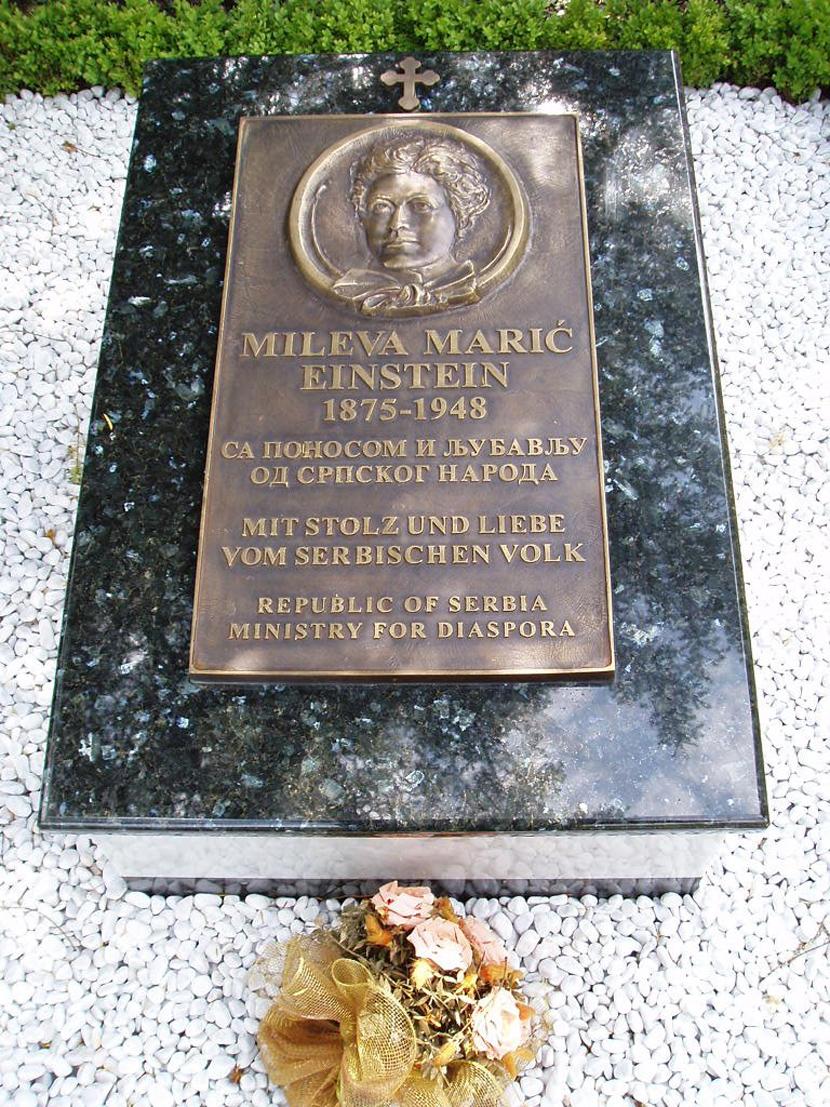 Памятник Милеве Марич Эйнштейн в Цюрихе