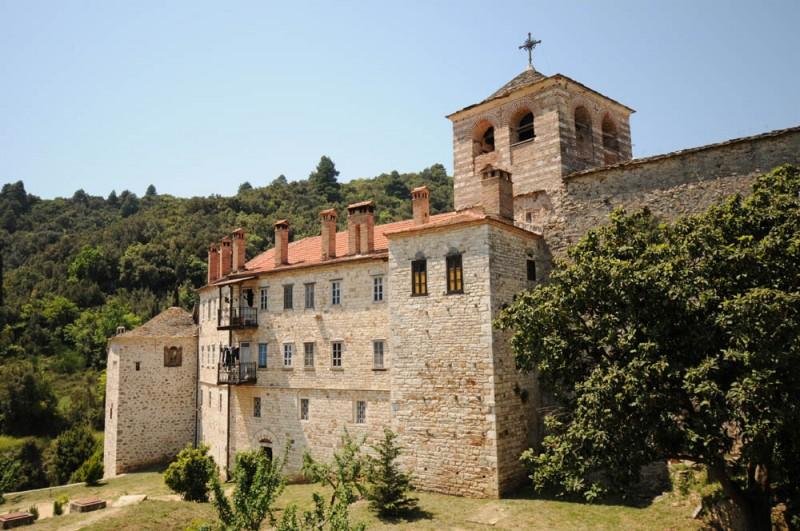 Монастырь Хиландар - Афон