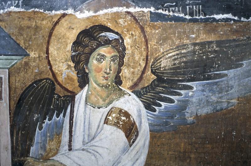 Фреска Белый ангел