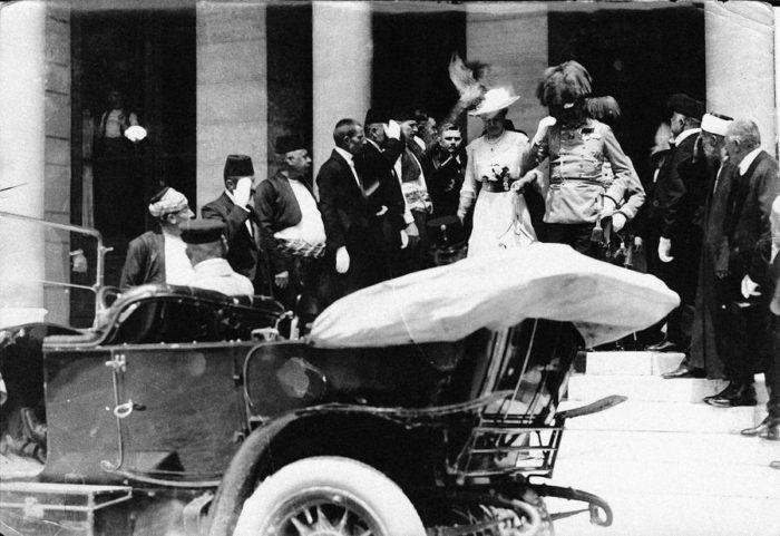 Франц Фердинанд и София Гогенберг